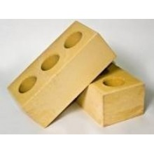 Желтый силикатный кирпич